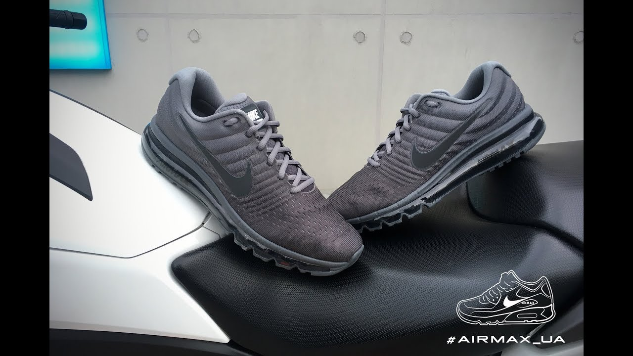 9ca0264a624b Nike Air Max 2017 Cool Grey Anthracite - YouTube