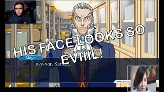 [GAME REACTION] Kubz Scouts (Phoenix Wright: Ace Attorney) - U SHOULDN'T HAVE SHOWN DA EVIDENCE JAY