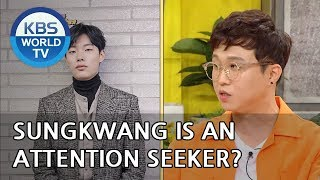 Sungkwang is an attention seeker?! LOL [Happy Together/2018.08.30]
