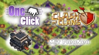 One Click mit FleoNeo #1 // Let´s Play Clash of Clans (German/HD)