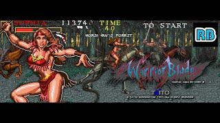 1992 [60fps] Warrior Blade Speedrun 10m33s Sophia ALL