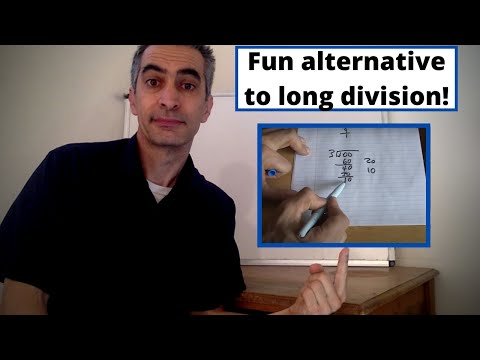 Fun Alternative Way To Do Long Division That Really Works!- Division By Chunking!