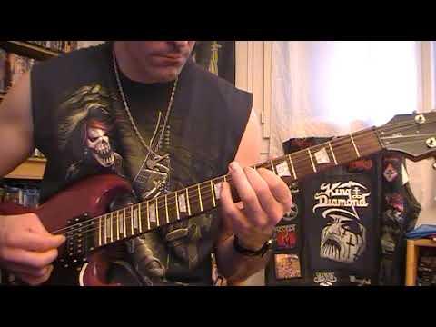 Sentenced -  Where Water Falls Frozen (Guitar cover)