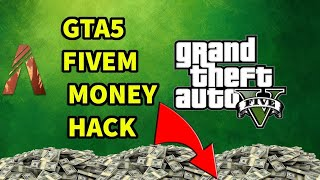 HOW TO GET UNLIMITED MONEY IN EVERY FIVEM SERVER!!!! fivem cheat engine