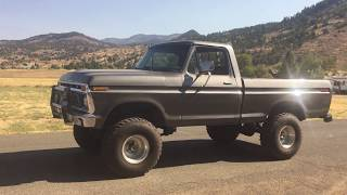 1977 F150 Shortbed with built 428