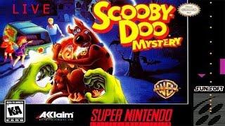 Super Nintendo Livestream - Scooby-Doo Mystery legendado em portugues