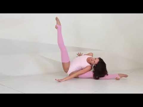 contortion gymnastics challenge julia amazing flexibility