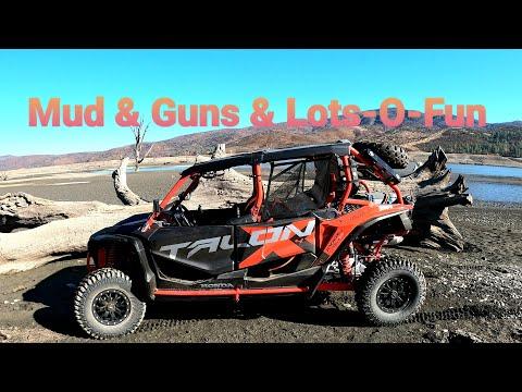 Mud & Guns & Lots-O-Fun Honda Talon @Indian Valley Reservoir
