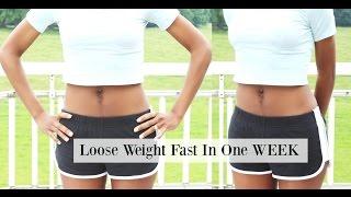 How To Loose Weight Fast In 1 Week - 15 Tips & Hacks To Lose Fat | Josiphia Rizado