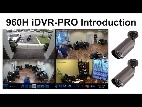 960H CCTV Security DVR Demo - iDVR-PRO