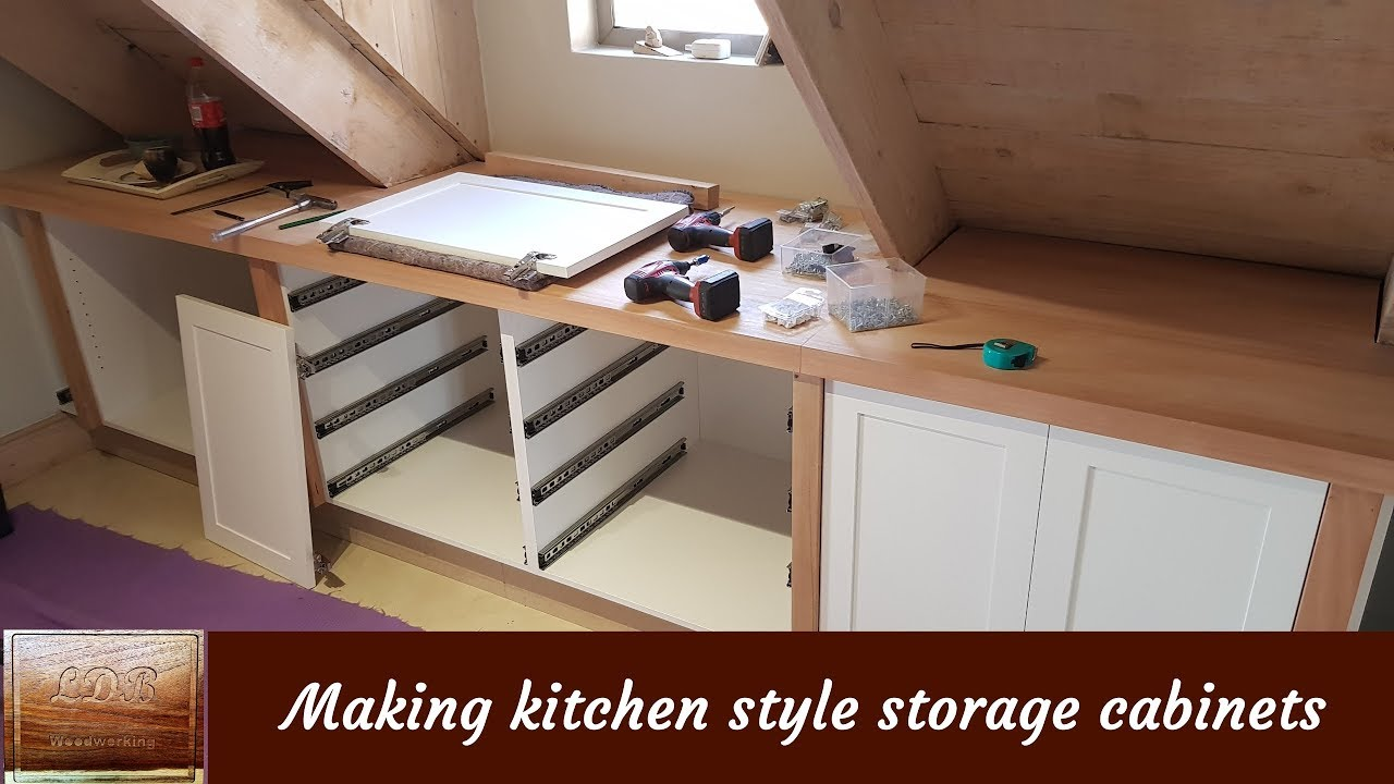 Making Kitchen Style Cabinets From Melamine