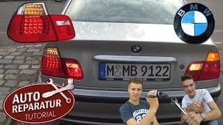 LED Rückläuchten BMW E46 | faceliften Facelift weiße Blinker | Auto Tutorial