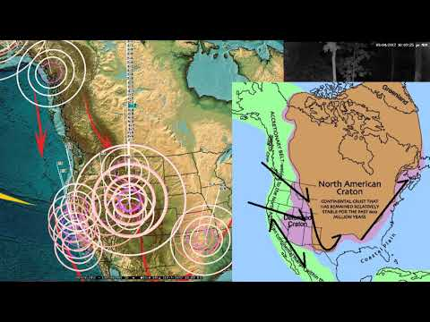 9/04/2017 -- West Coast to East Coast USA -- Seismic Unrest across Pacific