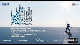 CAMPIONATI ITALIANI ASSOLUTI PATTINAGGIO di FIGURA 2018