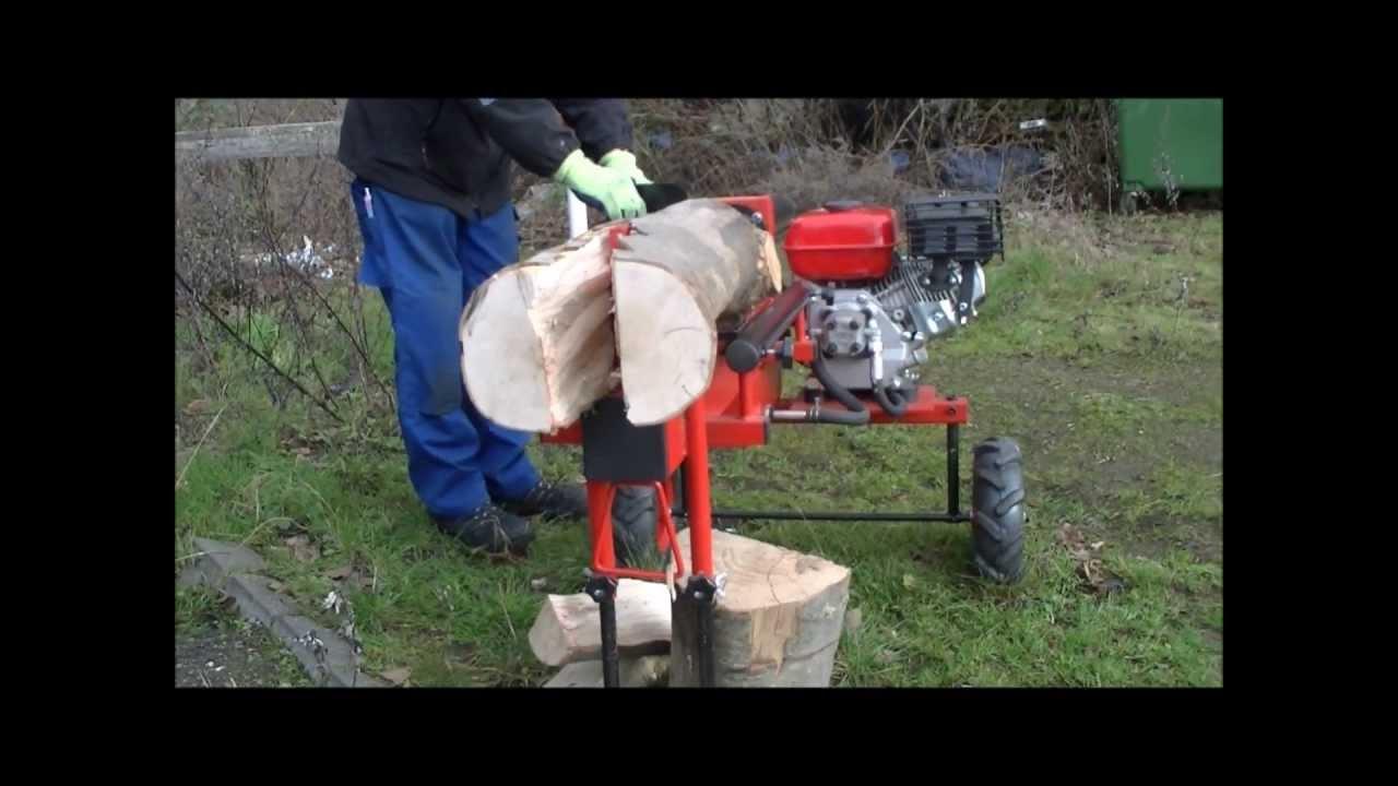 12 Tonnen 12 t 53 cm Benzin Holzspalter Jansen HS-12L53 Benzinmotor 6,5 PS