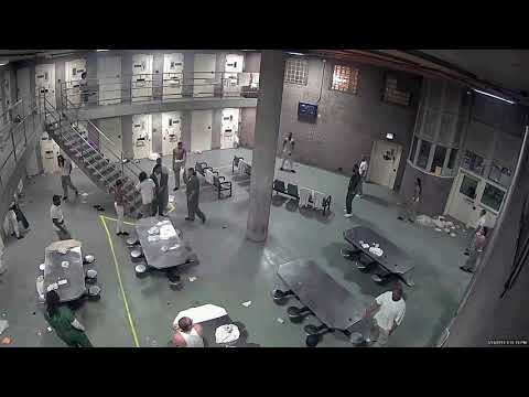 Jail brawl