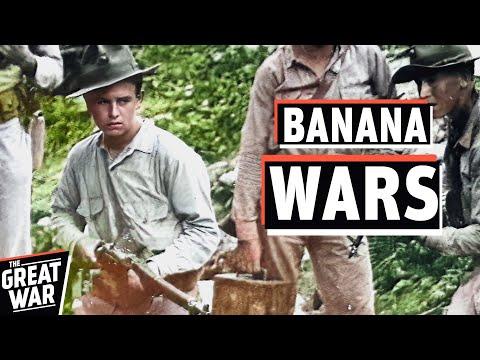 Banana Wars - US Marines Occupy Cuba, Haiti & Dominican Republic I THE GREAT WAR 1921