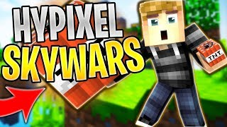 INSANE HORSE THROUGH WALL GLITCH? (Hypixel Skywars)