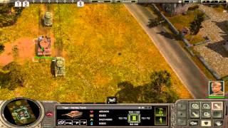 Magyar Let's Play Codename: Panzers - Phase One - Szövetséges Hadjárat - 2. Rész