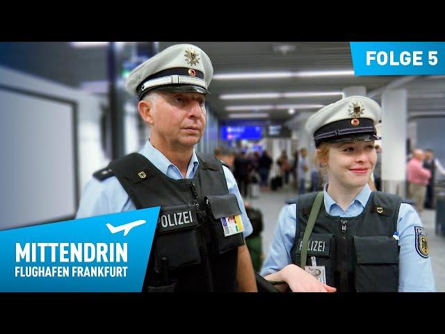 Deutschlands größte Polizeidienststelle (Teil 1) | Mittendrin - Flughafen Frankfurt (5)