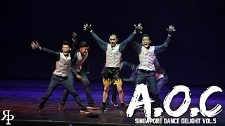 A.O.C | SINGAPORE DANCE DELIGHT VOL.5 FINALS | RPProductions