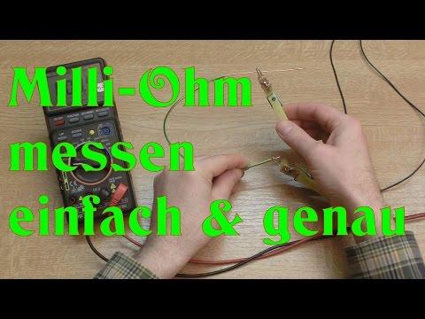 DIY: Milliohm messen - einfach und genau !