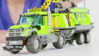 Behind the Bricks: LEGO City Volcano Explorers Volcano Exploration Base 60124