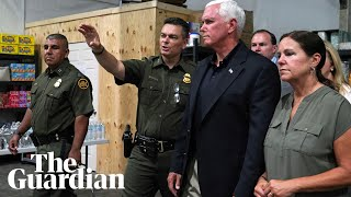 mike-pence-visits-migrant-detention-facilities-southern-border
