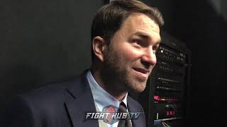 EDDIE HEARN TO MAYWEATHER