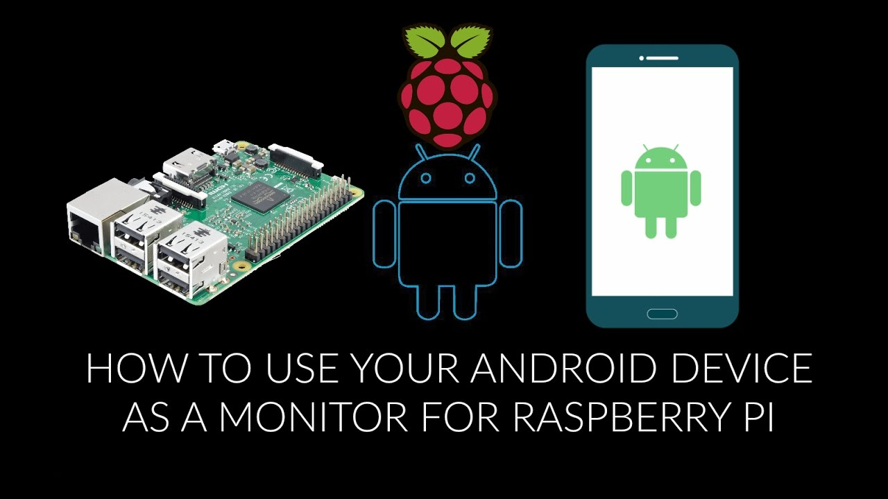 How to use your ANDROID device as a monitor for RASPBERRY PI ( Music  Removed - Copyright Claimed )