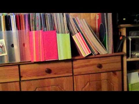 DIY 12x12 Vertical Paper Holders - FREE