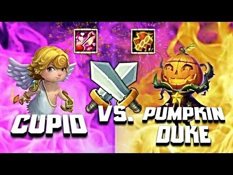 Pumpkin Duke VS Cupid