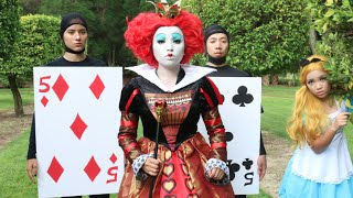 Tim burton 'Queen of Hearts' Makeup Tutorial ♥♥♥
