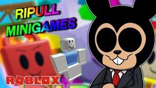 ¡LOS MEJORES MINIJUEGOS DE ROBLOX! - Ripull Minigames