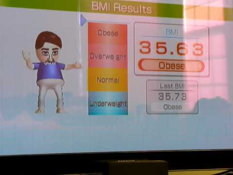 Wii FIt Body Test January 23, 2010