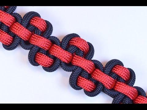 "Make the ""Serpent River Bar"" Paracord Survival Bracelet - BoredParacord.com"