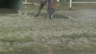 Inondation 2013 Grotte de Lourdes (vidéo 20) : se souvenir du 18 juin 2013