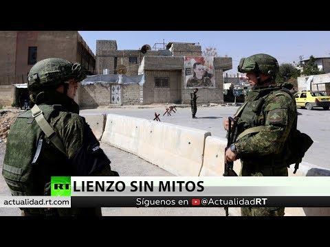 Un Pintor Español Viaja A Siria Y Ve La Cara Del Ejército Ruso De La Que No Se Habla En Occidente