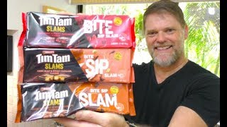 February 16 is National Tim Tam Day, so let's try the New Bite Sip ...