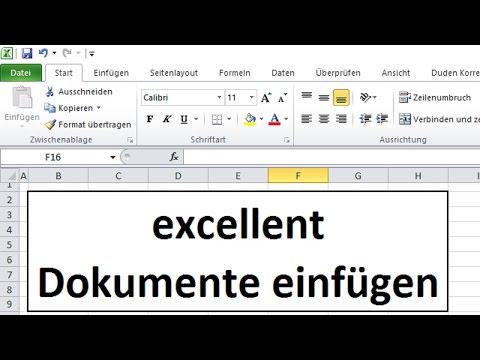 Dokumente bzw. .pdf Dateien einfügen oder einen Hyperlink dazu im Vergleich