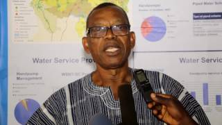 Clement Bugase at Regional Stakeholders Forum on monitoring Tamale on coverage in Northern region