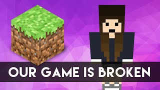 OUR GAME IS BROKEN (Minecraft w/ SeaNanners) | catabot
