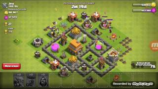 Pertarungan clash of clans gobawi =goblin,ballon,wizard part 2