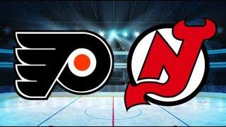 huge selection of 7bba0 0e6f7 New Jersey Devils vs Philadelphia Flyers (Game 50) Devils ...