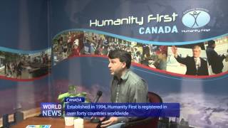 Humanity First Canada recognised with Prime Minister Stephen Harper's award