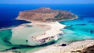 Греция Крит бухта Balos Laguna Balos Greece(