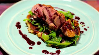 Duck with Redcurrant and Red Wine Sauce | How to | Cooking with Benji