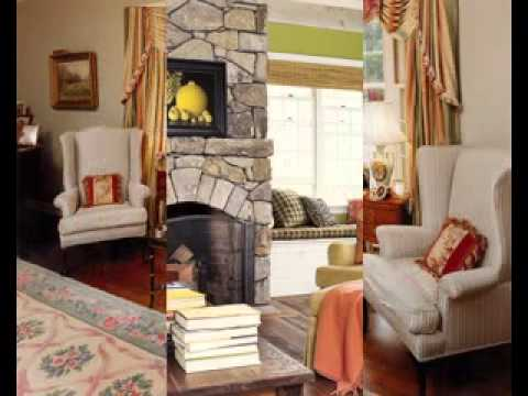 Country style living room decor ideas - YouTube