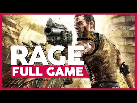 Rage 1   Full Gameplay/Playthrough   PS3   No Commentary