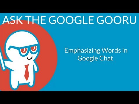 Emphasizing Words With Bold, Italics, And Strikethrough In Google Chat